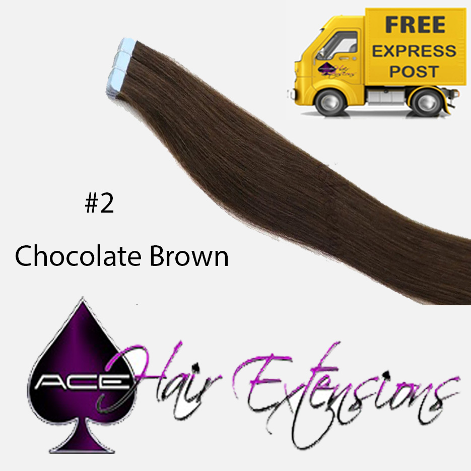 Tape 22″ #2 Chocolate Brown. Delivered Free Tomorrow if ordered by 2pm Mon-Thurs Auspost Express Zone